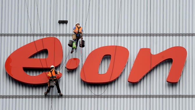 German utility E.ON lowers 2013 outlook