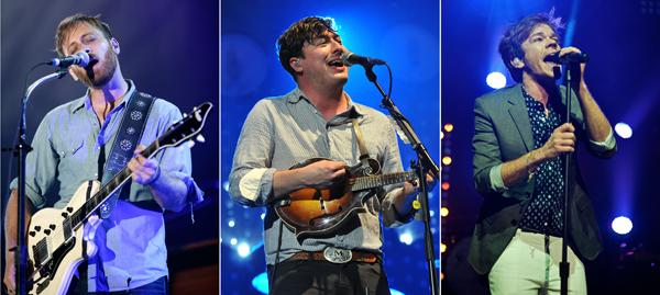 Black Keys, Mumford & Sons, fun. Named Grammy Performers