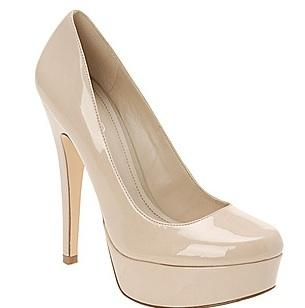 Aldo patent heels, $80, at Aldo Shoes