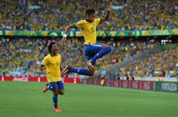 Brazil 2-0 Mexico: Neymar's early goal, late assist too much for El Tri