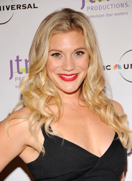 Katee Sackoff attends the Jewish Television Network's Annual Vision Awards on November 5, 2008 at the Regent Beverly Wilshire Hotel in Beverly Hills, California. 