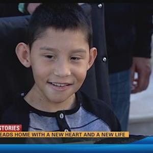Boy heads home with a new heart and a new life