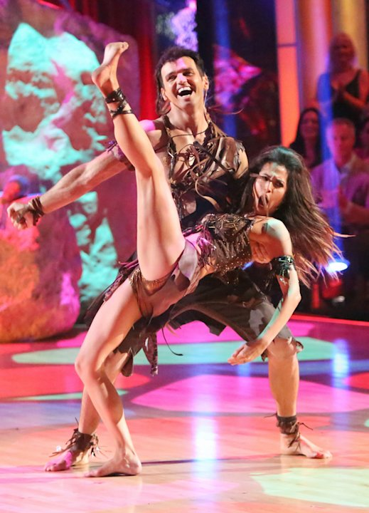 Tony Dovolani and Melissa Rycroft (11/19/12)
