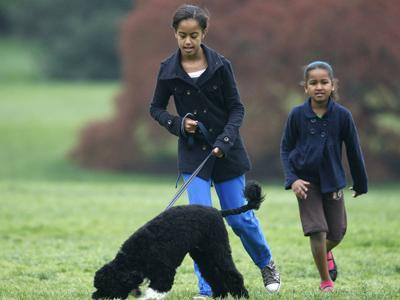'Normal' Family Life Helps White House Kids