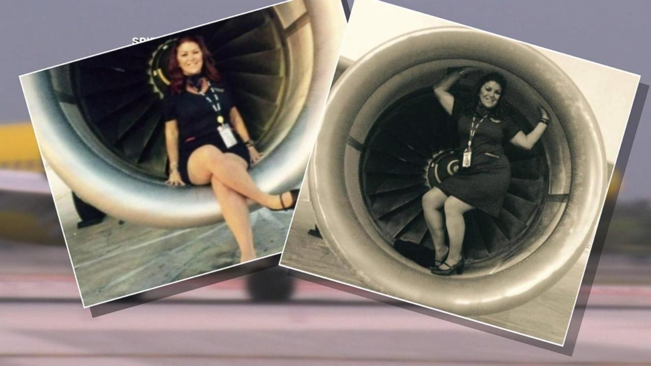 Engine Photos Land Spirit Airlines Flight Attendant in Controversy