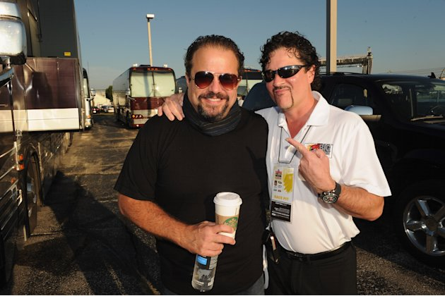 Country Music Stars Attend The Brickyard 400 Presented By BigMachineRecords.com