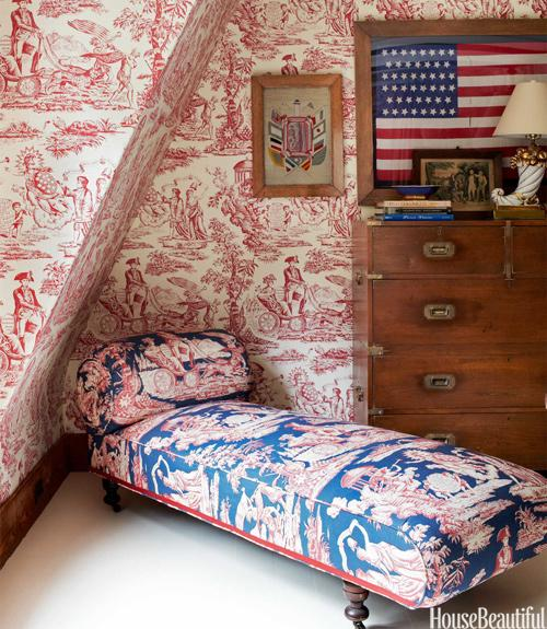Patriotic Master Bedroom