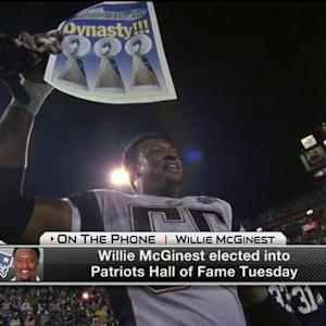 Former New England Patriots linebacker Willie McGinest: 'It is humbling to be recognized'