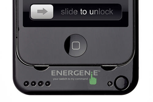Energenie protective case doubles iPhone's battery life. Phones, Energenie, Chargers, iPhone, iPad, iPhone accessories, iPad accessories 0