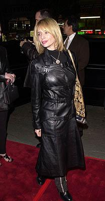 Premiere: Rosanna Arquette at the Mann's Chinese Theater premiere of Warner Brothers' 3000 Miles To Graceland - 2/20/2001