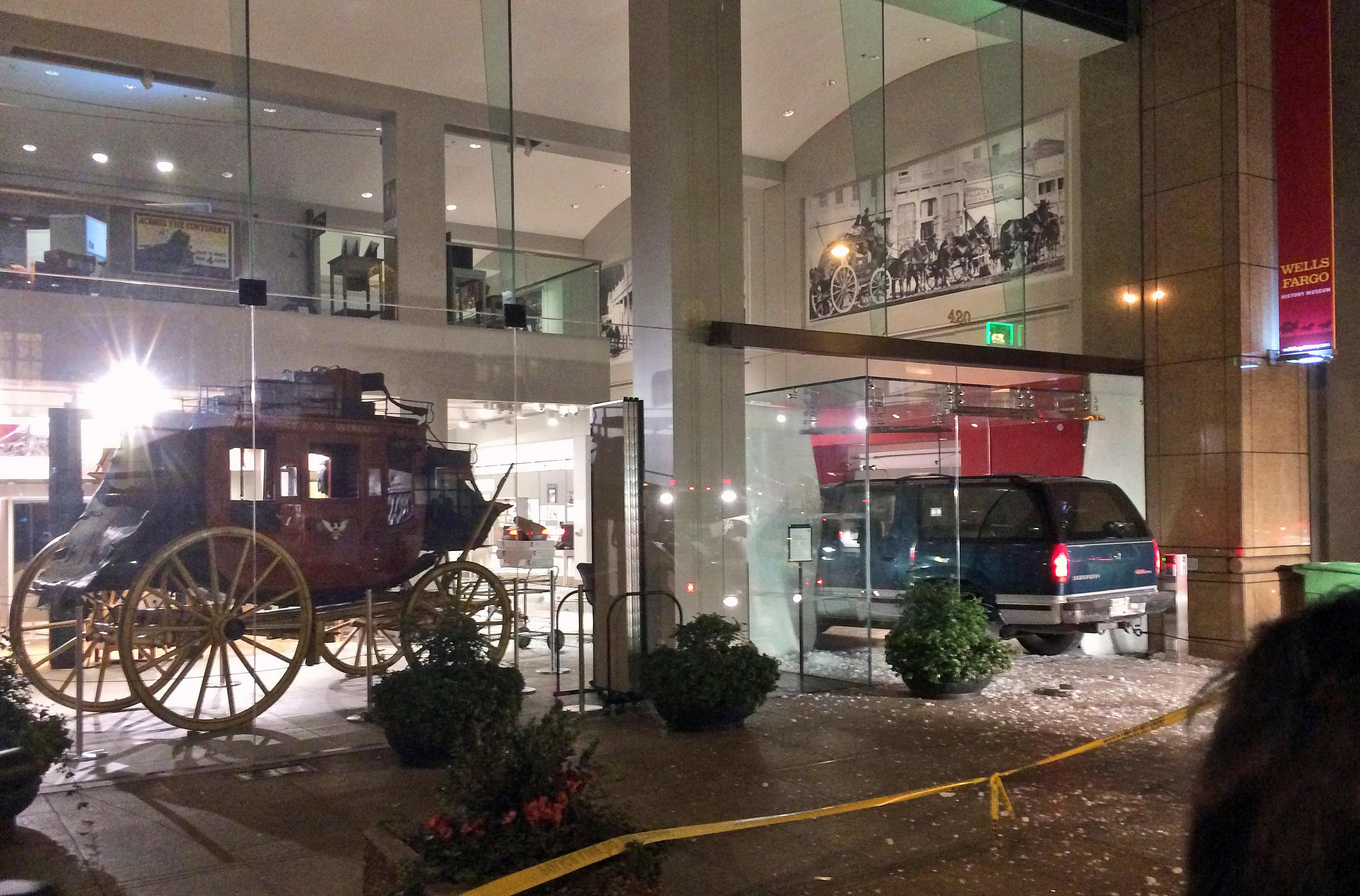 Gold nuggets stolen from Wells Fargo museum in San Francisco