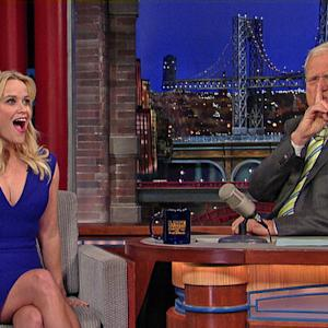 Reese Witherspoon's Interesting Coincidence - David Letterman