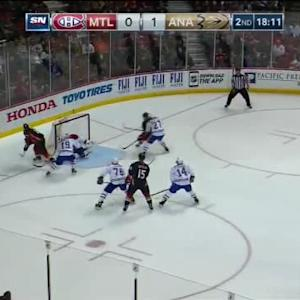 Carey Price Save on Corey Perry (01:51/2nd)