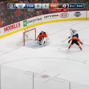 Steve Mason Save on Peter Holland (14:22/2nd)
