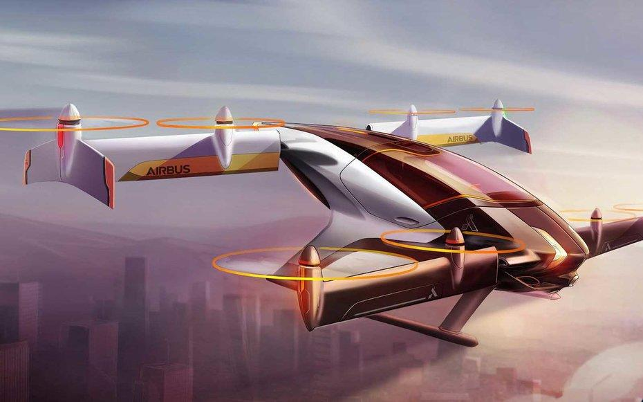 You Could Fly in an Autonomous Sky Taxi by 2020, if Airbus Has Its Way