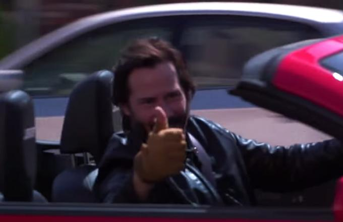 Keanu Reeves Finally Gives Everyone the Safety-Oriented 'Speed' Sequel They So Clearly Deserve