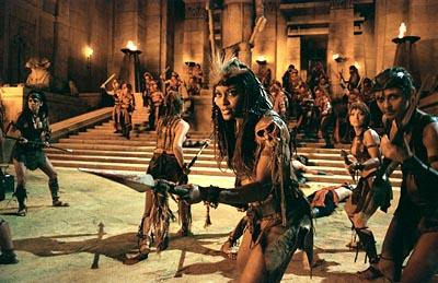 Sherri Howard as Queen Isis in Universal's The Scorpion King