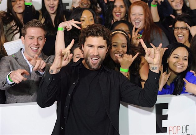"Brody Jenner from ""Keeping Up With The Kardashians"" attends the E! Network 2013 Upfront at the Manhattan Center on Monday April 22, 2013 in New York. THE CANADIAN PRESS/Evan Agostini/Invision/AP"
