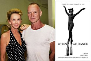 2010 When We Dance Chianti comes from the Tuscan estate of Sting and Trudie Styler.