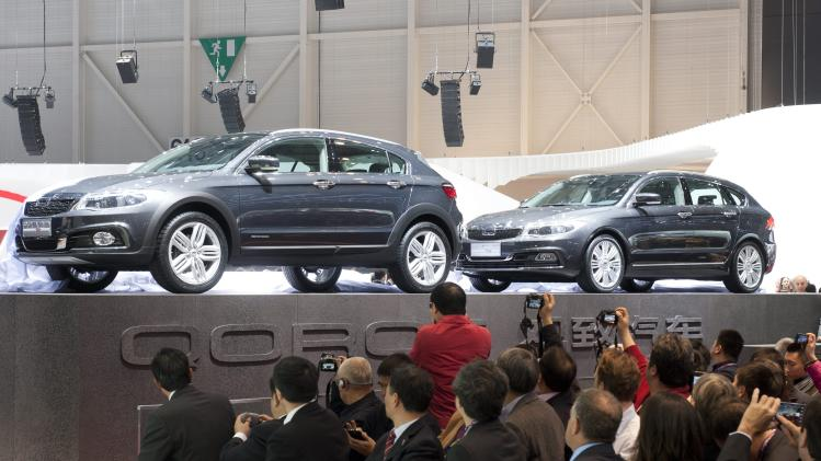 New Chinese carmaker eyes European market