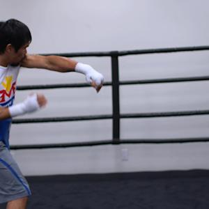 Arum on Pacquiao being faster and stronger