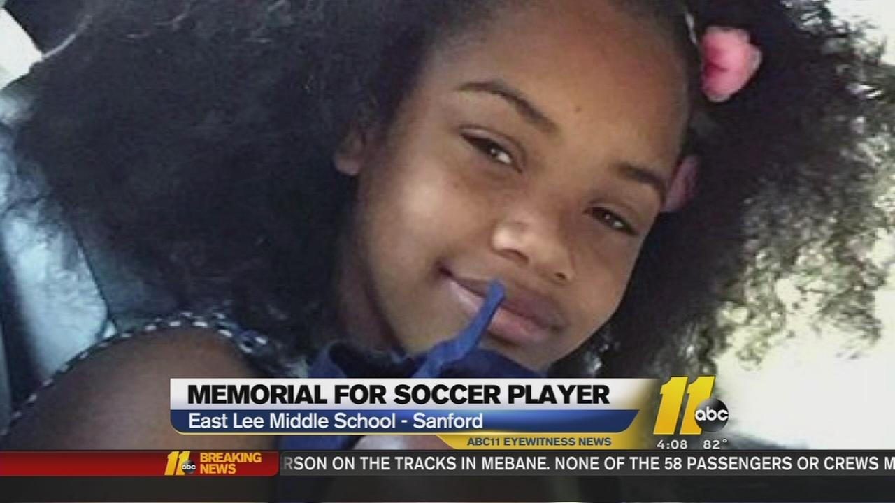 Young Lee County soccer player honored at last game of the year