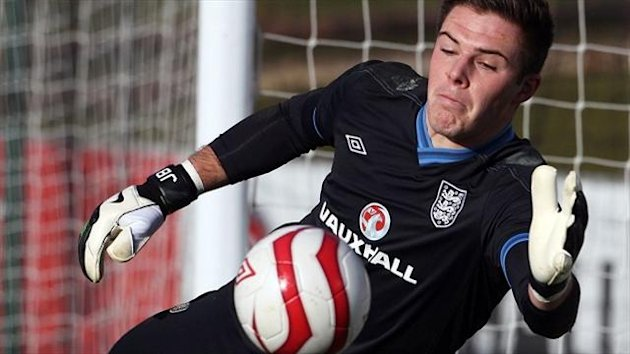 Jack Butland is hoping to get his chance at Stoke next season and play in the World Cup next summer