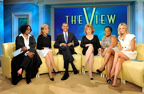 Obama Barack The View