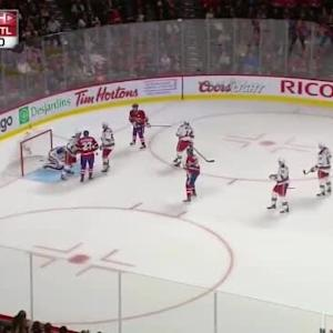 Henrik Lundqvist Save on Pierre-Alexandre Parenteau (04:44/1st)
