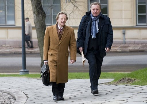 <p>European lawmakers Tuesday blocked the nomination of Luxembourg's Yves Mersch (left) to a top job on the all-male European Central Bank's executive board, demanding governments come up with female candidates instead.</p>