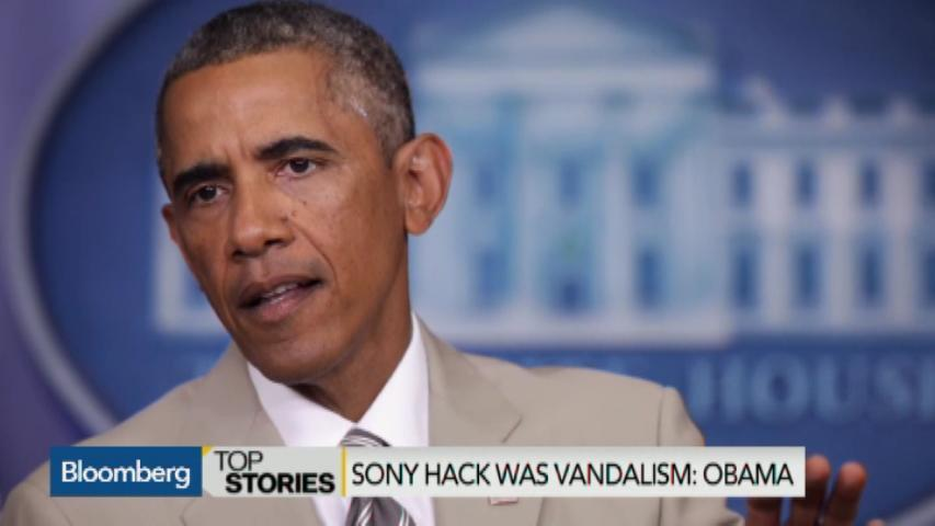 Obama Considers Sony Hack Vandalism, Not Act of War