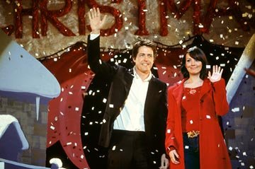 Hugh Grant and Martine McCutcheon in Universal's Love Actually