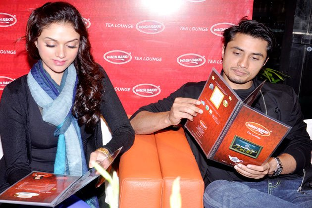 Ali Zafar and Aditi promote…