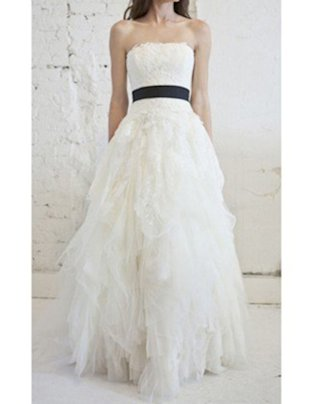 VERA WANG 39ELIZA 39 LACE TULLE PRINCESS GOWN 7900 FROM 11000