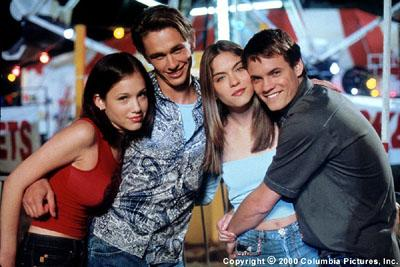 Marla Sokoloff , James Franco , Jodi Lyn O'Keefe and Shane West in Columbia/Phoenix's Whatever It Takes