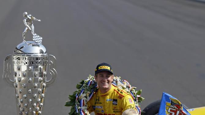 Hunter-Reay proud to be IndyCar's American star