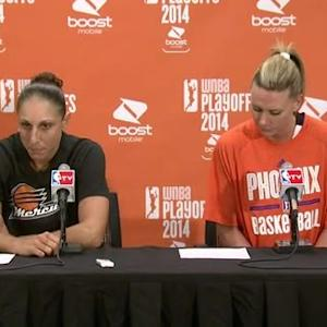 Postgame: Taurasi And Taylor