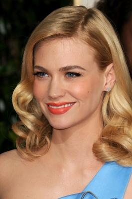 January Jones arrives at the 66th Annual Golden Globe Awards held at the Beverly Hilton Hotel on January 11, 2009 in Beverly Hills -- Getty Images