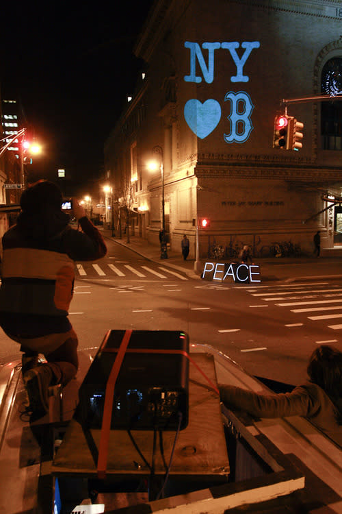 How Occupy Wall Street Lit Up Brooklyn with Love for Boston