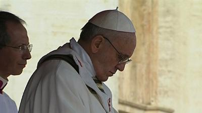 Pope: Protest Environment, Weak and Poor