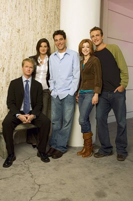 "Neil Patrick Harris as Barney, Cobie Smulders as Robin, Josh Radnor as Ted, Alyson Hannigan as Lily and Jason Segel as Marshall CBS' ""How I Met Your Mother"" How I Met Your Mother"