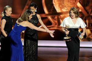 Emmy Winner Merritt Wever Addresses Her Short Acceptance Speech: 'I'm Getting Therapy'