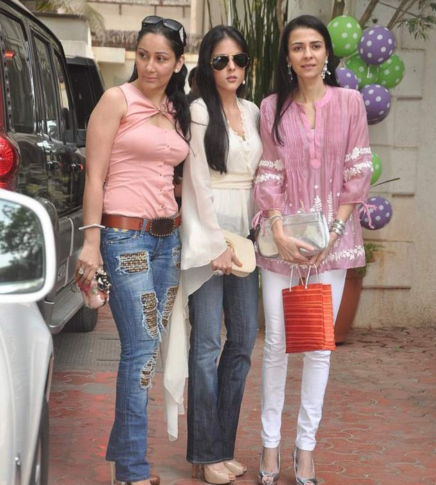 Spotted: Celebs at Shilpa's baby shower