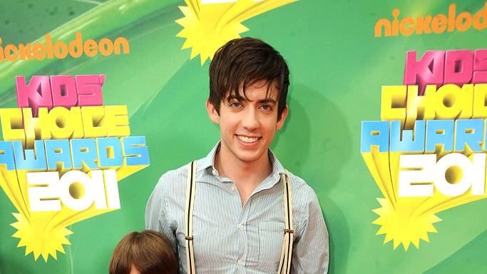 """Glee"" star Kevin McHale brings some pint-sized buddies with him to Nickelodeon's 2011 Kids' Choice Awards. Nickelodeon's 24th Annual Kids' Choice Awards"