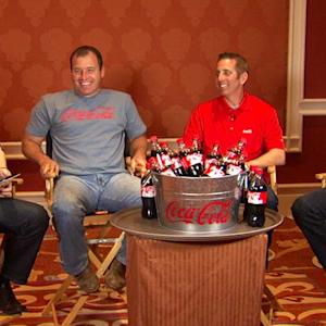 Coca-Cola Racing Family Chat: Las Vegas