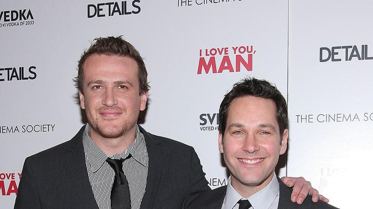 I Love You Man NY screening 2009 Jason Segel Paul Rudd
