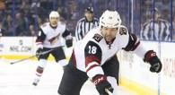 Coyotes place towering enforcer John Scott on waivers