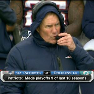 New England Patriots in control of AFC