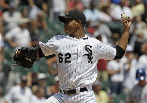 Quintana pitches White Sox to sweep of Rangers