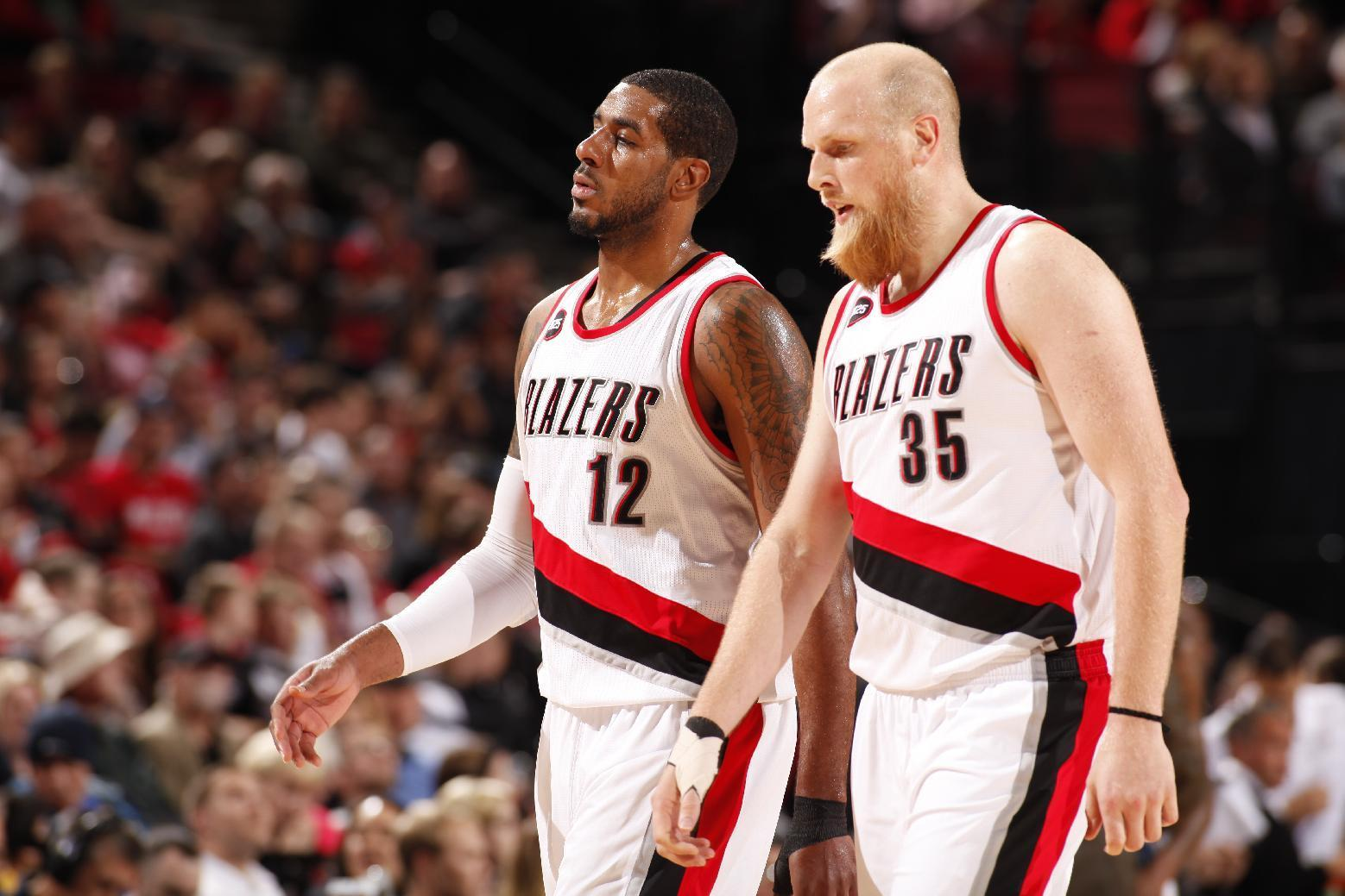 Trail Blazers beat Nuggets, move closer to division title